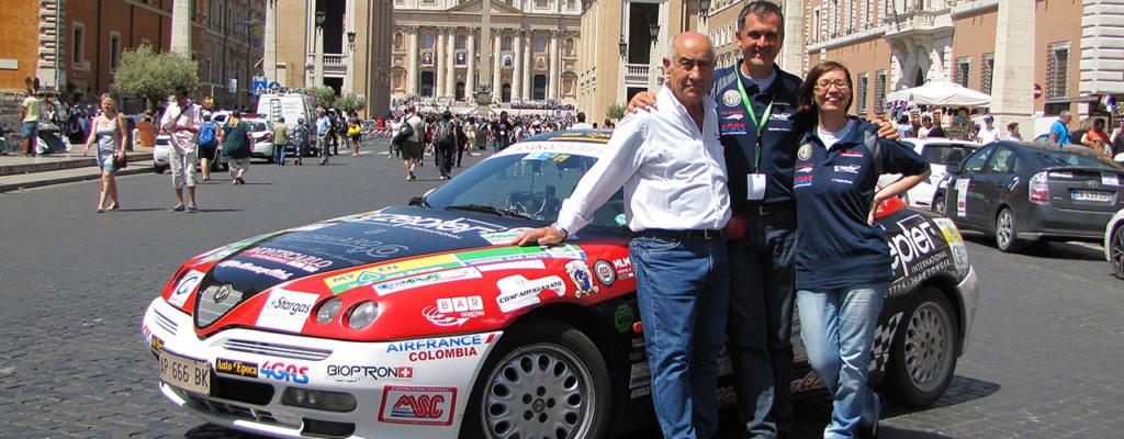 Ecorally San Marino, arrivo a Piazza San Pietro