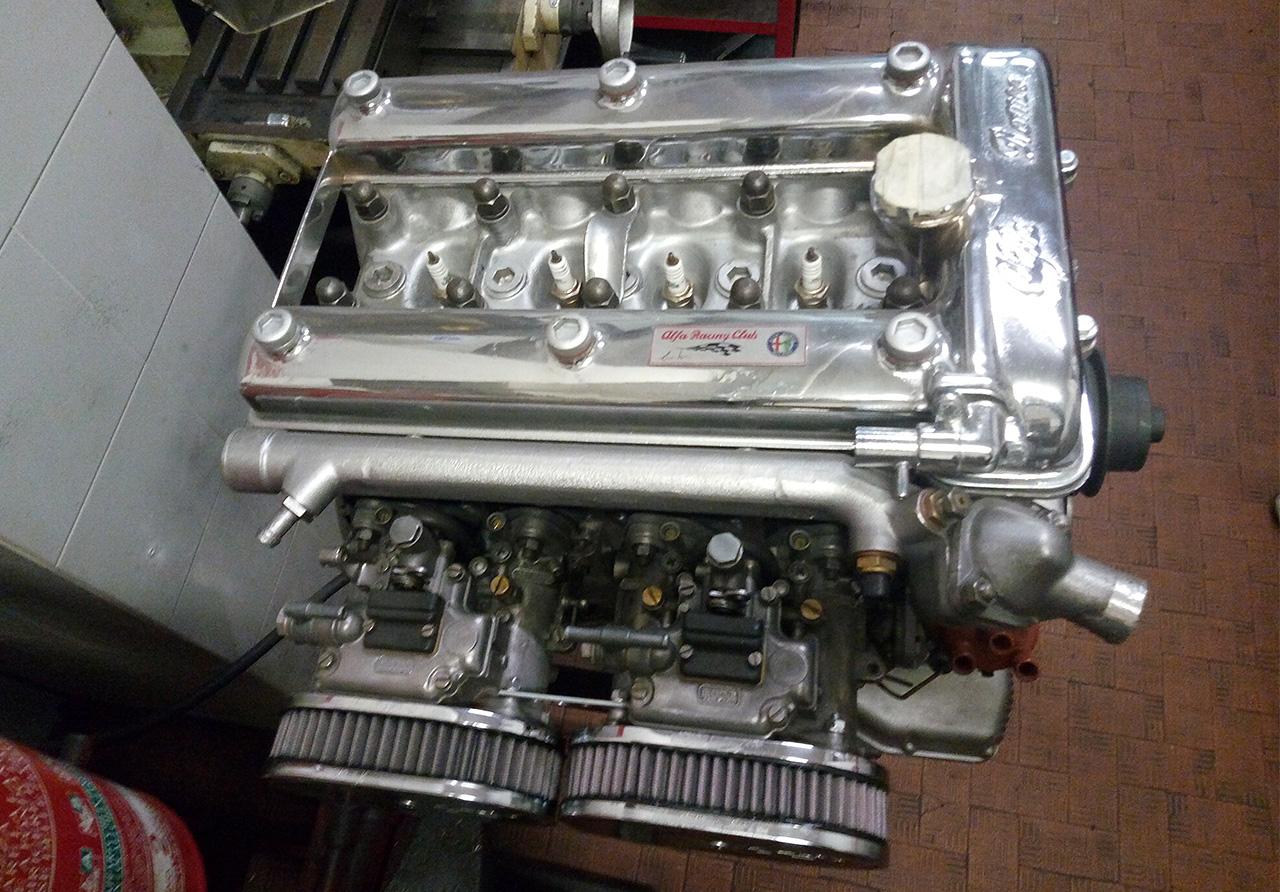 Motore preparato in configurazione Gruppo 1